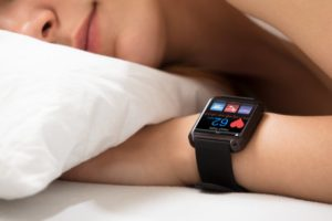 sleeping person heart smart